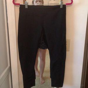Zella 3/4 crop black leggings